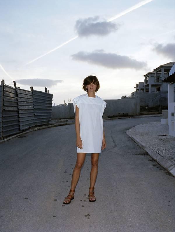 Trish Goff in Céline Purple Fashion 2011