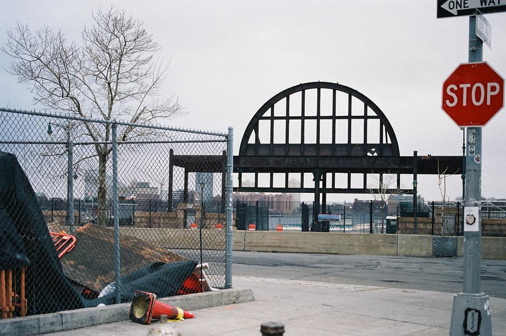 Locations Series SHAME (Sullivan's breaks down on the pier) Pier 54 West St. N.Y.C. 2014