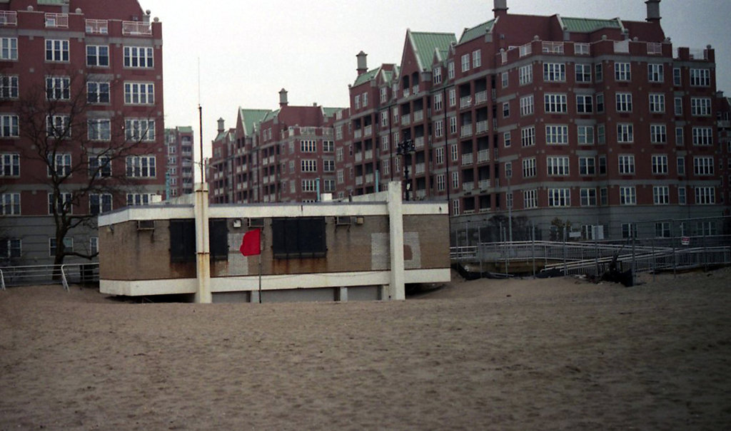 Locations Series, Two Lovers, Brighton Beach, Brooklyn, NY, 2014