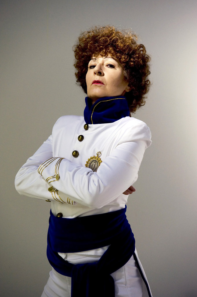 DGF as Sarah Bernhardt 2015