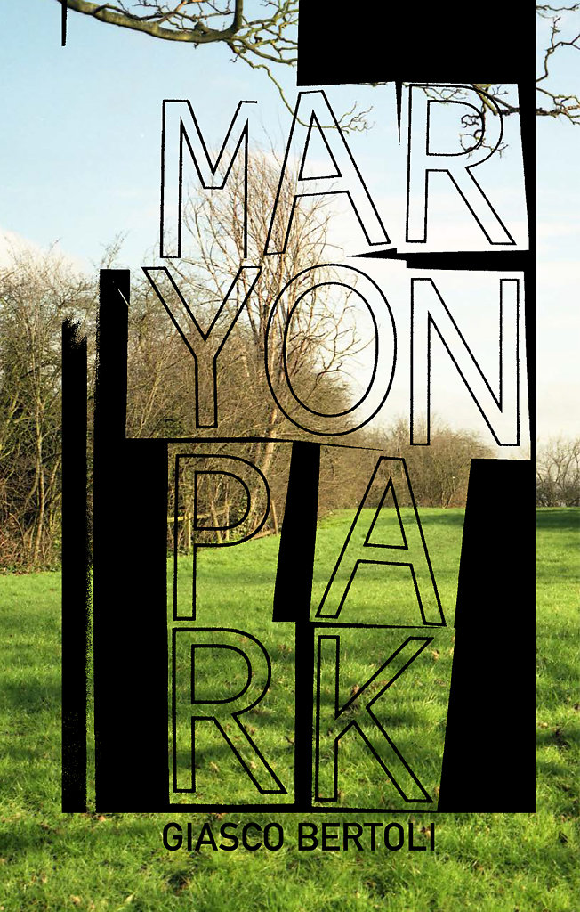 Maryon Park book published with onestarpress 2017