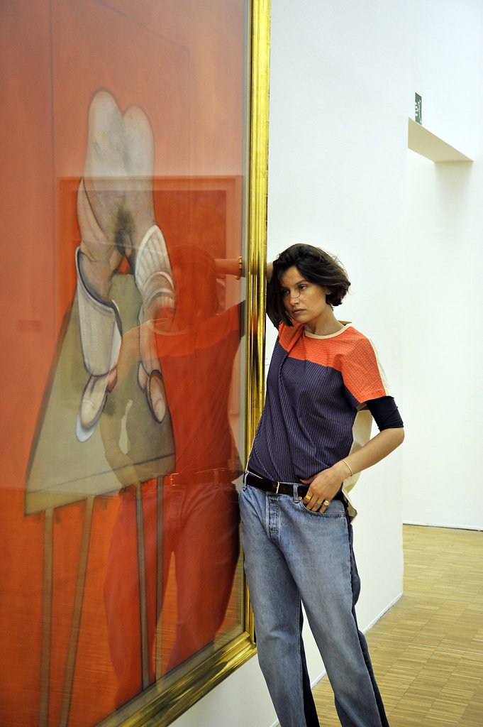Laetitia Casta Francis Bacon Study of The Human Body Centre Pompidou Paris 2016